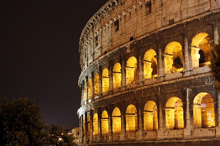 'Colosseo di notte ' in Grossansicht