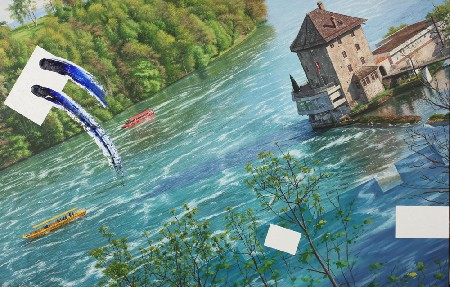 'THE RHINE FALLS' in Grossansicht