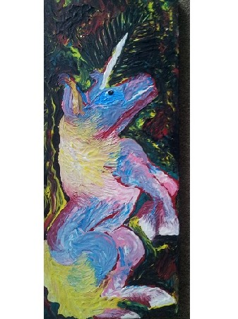 'psychedelic unicorn' in Grossansicht