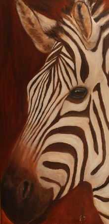 'Zebra' in Grossansicht