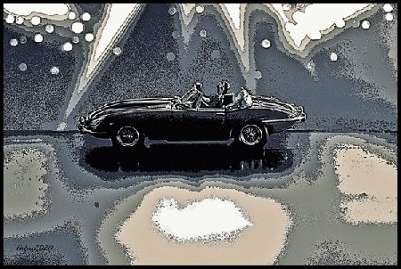 'JAGUAR-E-Type-Cabrio-1961-sw ' in Grossansicht