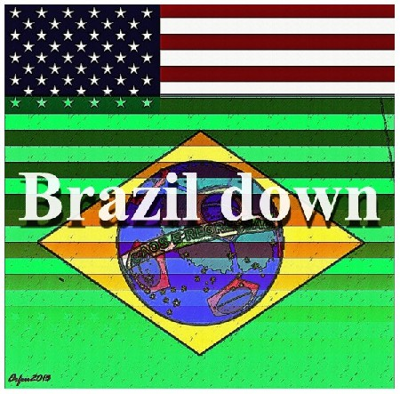 'Brazil down ' in Grossansicht