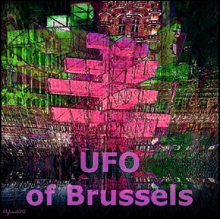 'UFO of Brussels ' in Grossansicht