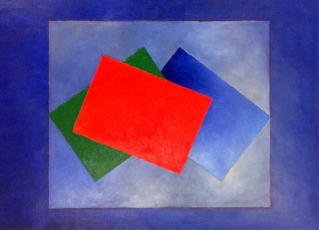 'Three coloured rectangles' in Grossansicht